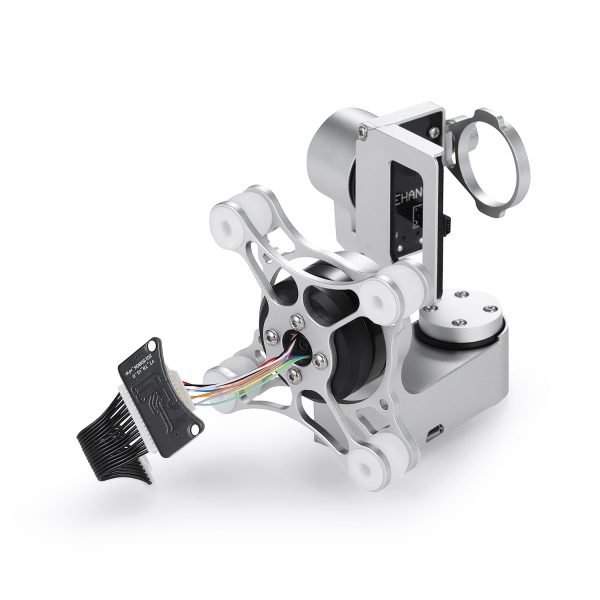 3-axis gimbal – white